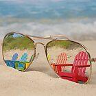Beach Chair Reflexion von Maria Dryfhout