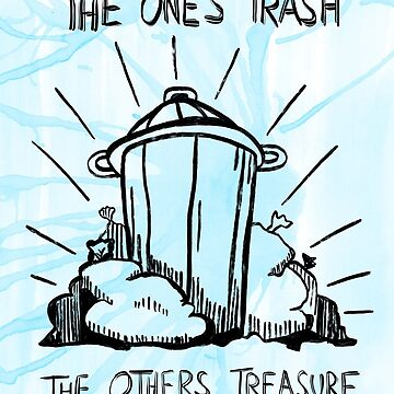 The Ones Trash - The Others Treasure. Food Sharing by RAWWR