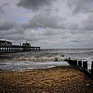 Beach to Pier by Karen  Betts