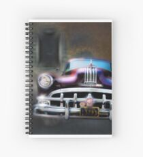 The Night The Motor Ran Spiral Notebook