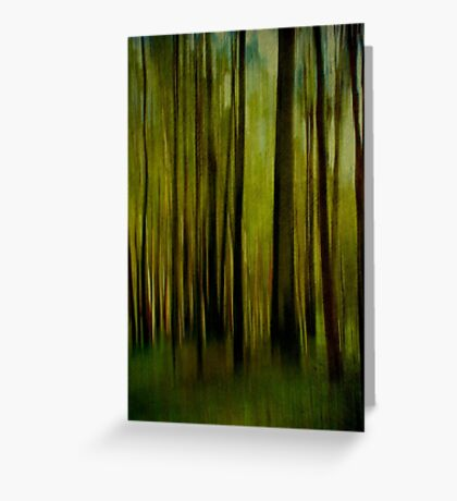 Night falls on the Forest Greeting Card
