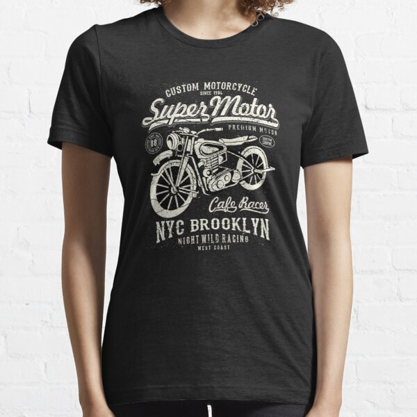 Super Motor Custom Motorcycle NYC Essential T-Shirt