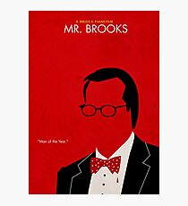 Mr. Brooks Photographic Print