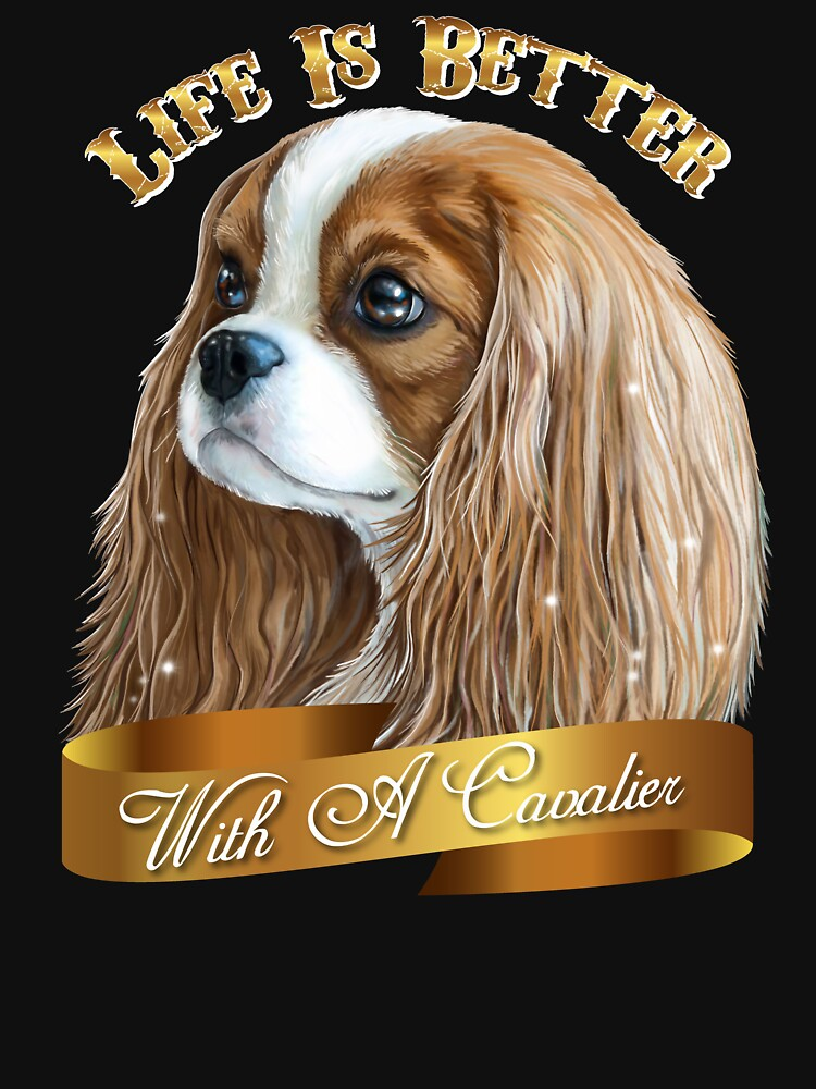 Cavalier King Charles Spaniel, King Charles Spaniel Gifts, Cavalier King Charles Spaniel Art,