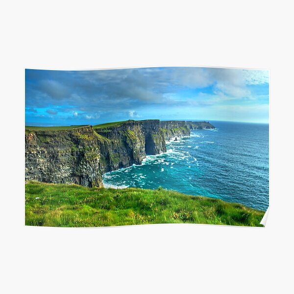 Cliffs of Moher Poster