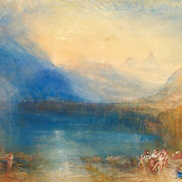 "Joseph Mallord William Turner ""The Lake of Zug"" by ALD1"