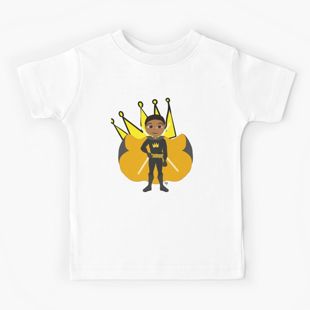 YOUNG ROYALS - Team King - Jason Justice Kids T-Shirt