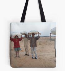 carrying fodder, rajasthan 3 Tote Bag