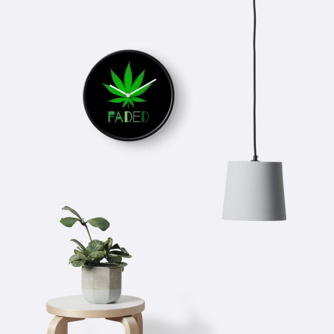 Faded Cannabis Marijuana Decor and Style Collection