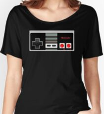 Classic old vintage Retro game controller Women's Relaxed Fit T-Shirt