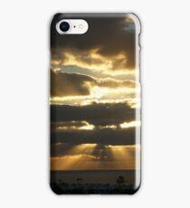 Lanzarote Sunrise Panorama iPhone Case/Skin