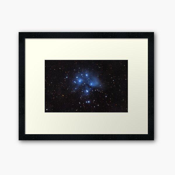 The Pleiades Framed Art Print
