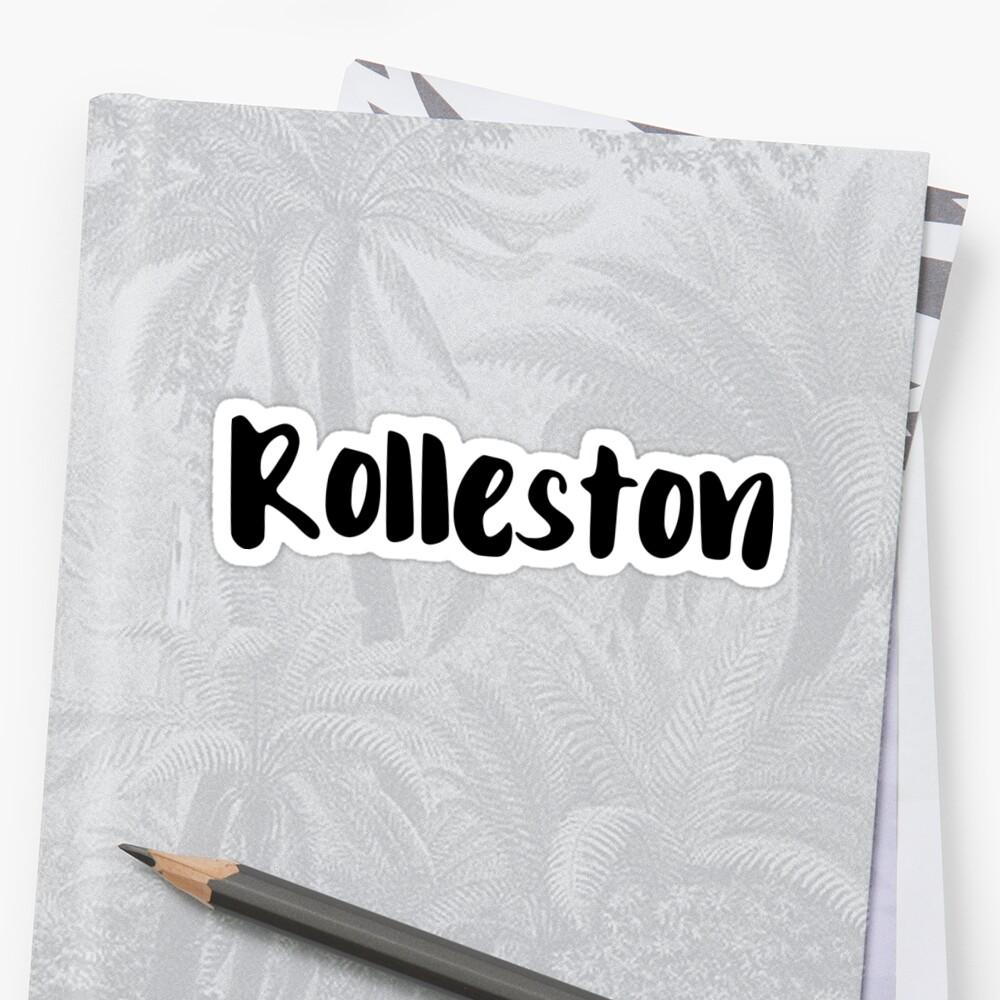 Rolleston Sticker