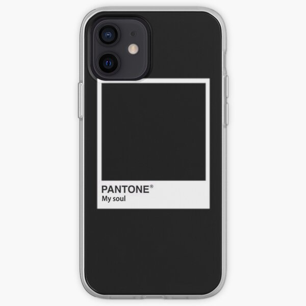 black iPhone Soft Case