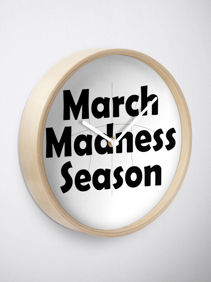 Alternate view of March Madness Clock