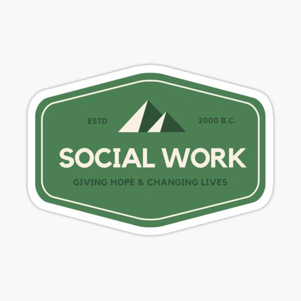 Social Worker Gift Sticker