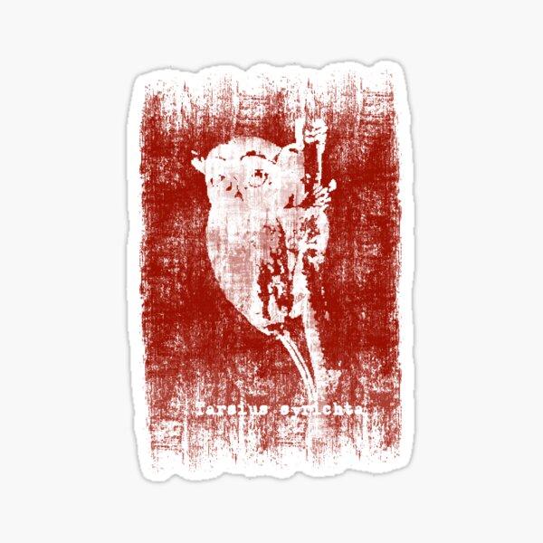 Tarsius syrichta Sticker