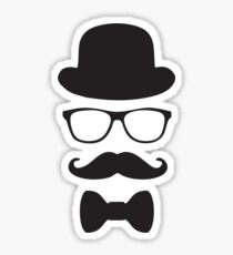 Original Hipster Sticker