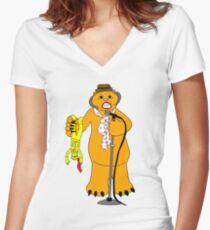 Wampa! Wampa! Wampa! Women's Fitted V-Neck T-Shirt