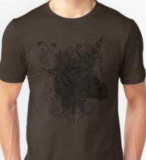 Psilocybinaturearthell Psychedelic Ink Illustration T-Shirt