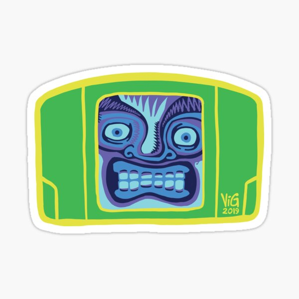Glenntendo 64, Brazil Sticker