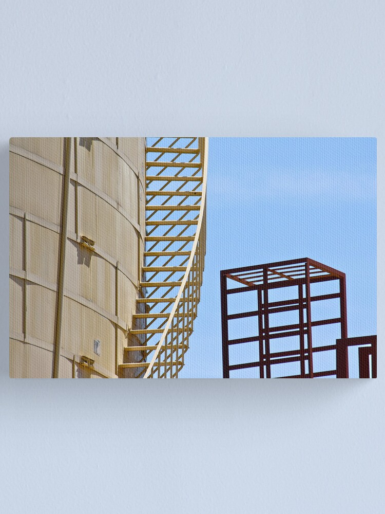 Alternate view of Steps and Cubes Canvas Print