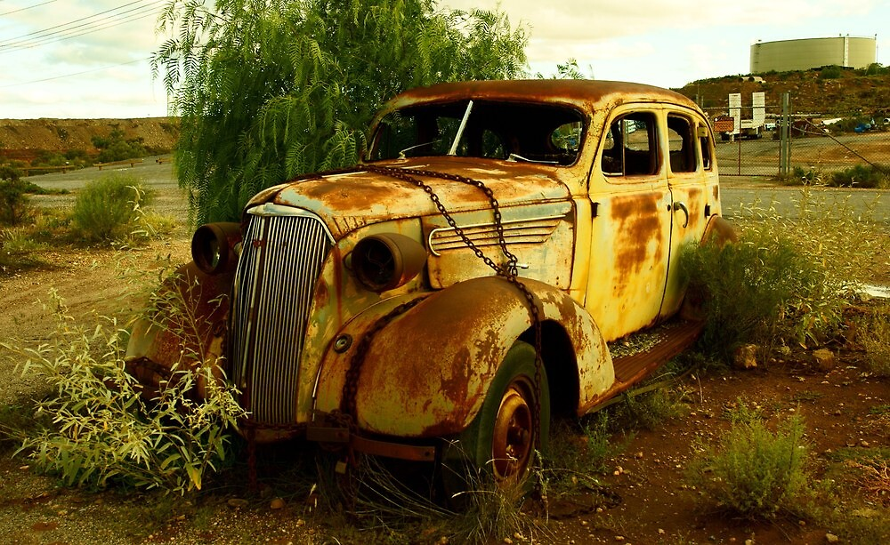OLD AND NEGLECTED (1) by ANDREW CARMAN