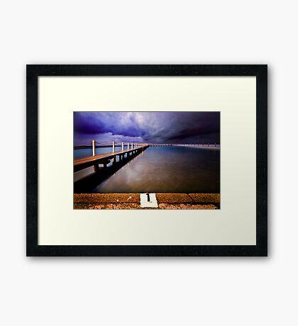 Narrabeen Pool Framed Print