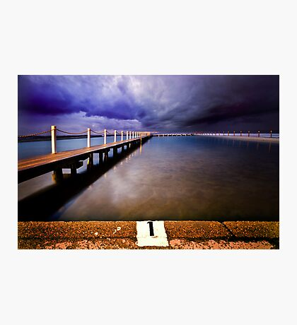 Narrabeen Pool Photographic Print