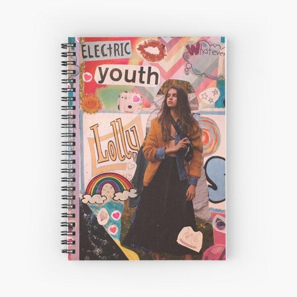 art collage 2 Spiral Notebook