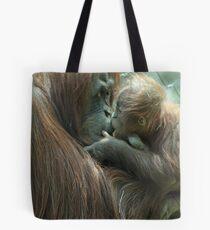 Tender Love of an Orangutan Tote Bag