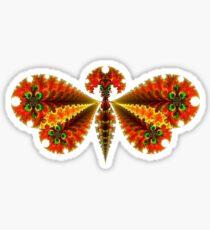 Fractal Butterfly Sticker