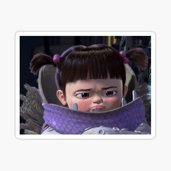 Boo de Monsters Inc Pegatina