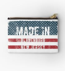 Made in Blawenburg, New Jersey Studio Pouch