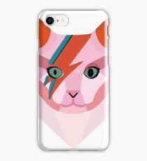 Bowie Cat iPhone Case/Skin