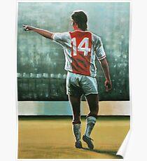 Johan Cruyff nr 14 Poster