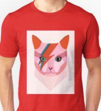 Bowie Cat Unisex T-Shirt