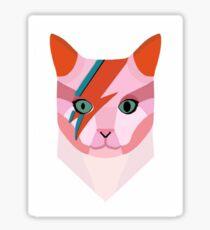Bowie Cat Sticker