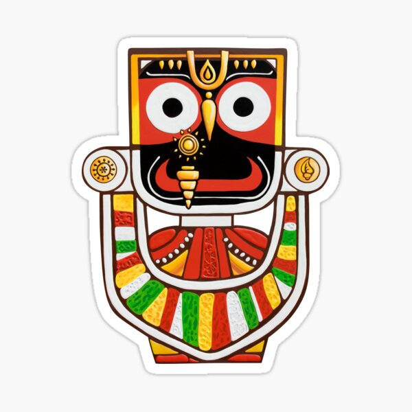 Bhagwan Jaganath Sticker Photo