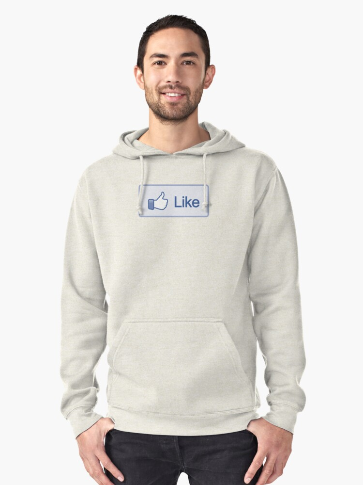 Like Button Hoodie by likebutton