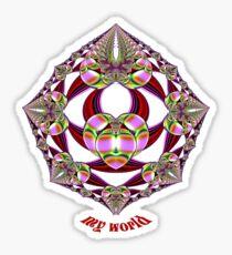 My World Sticker