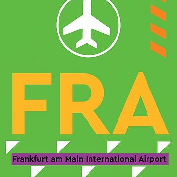 Airport code FRA Frankfurt by Aviators
