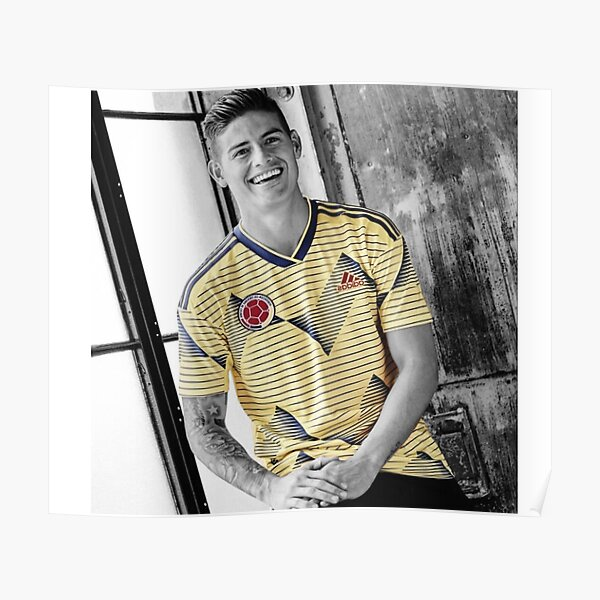 James Rodriguez: Colombia Equipo Nacional  Poster