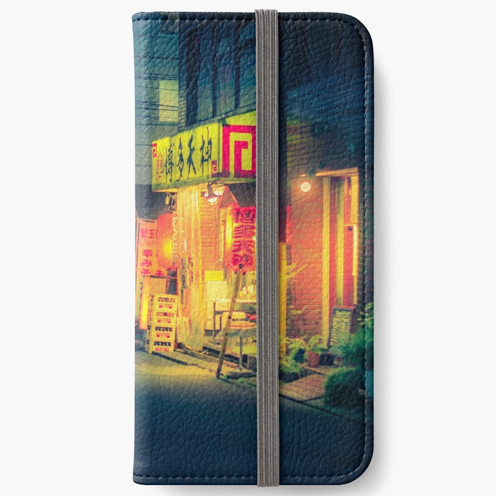 Open all night iPhone Wallet