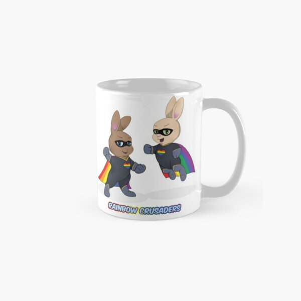 Skip and Pip as the Rainbow Crusaders Classic Mug