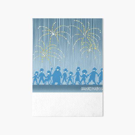Moistorico Art Board Print