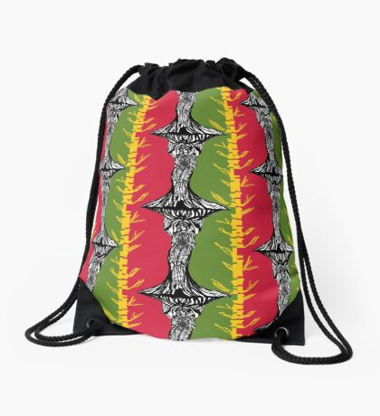 Road 2 Freedom Drawstring Bag