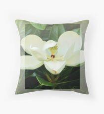 Magnolie Blume Dekokissen