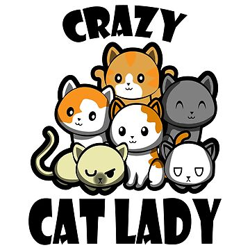 Crazy Cat Lady Gift Cat Lover  by NiceTeee