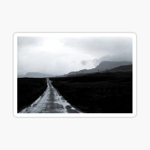 Scottish High Road Sticker